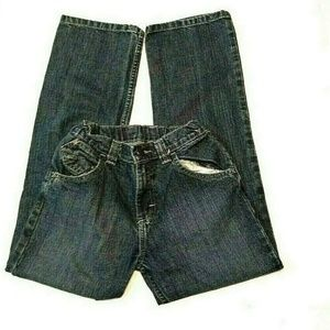 Wrangler Boys Unisex Kids Jeans Size 12 Regular